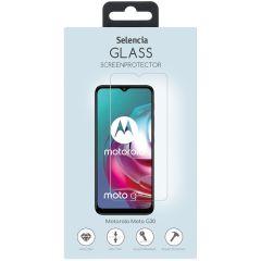 Selencia Displayschutz gehärtetem Glas Motorola Moto G30 / G20 / G10 (Power) / E7i Power