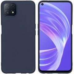 iMoshion Color TPU Hülle für das Oppo A73 (5G) - Dunkelblau