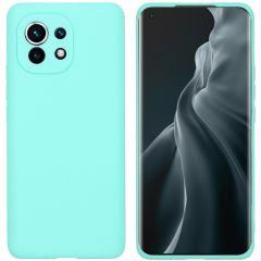 iMoshion Color TPU Hülle für das Xiaomi Mi 11 - Mintgrün