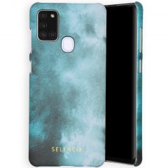Selencia Maya Fashion Backcover Samsung Galaxy A21s - Air Blue