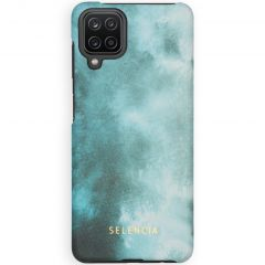 Selencia Maya Fashion Backcover Samsung Galaxy A12 - Air Blue