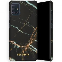 Selencia Maya Fashion Backcover Samsung Galaxy A51 - Marble Black