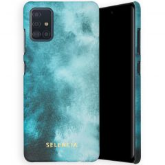 Selencia Maya Fashion Backcover Samsung Galaxy A51 - Air Blue
