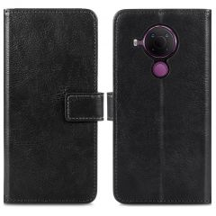iMoshion Luxuriöse Buchtyp-Hülle Nokia 5.4 - Schwarz