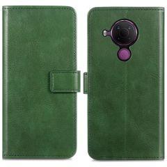 iMoshion Luxuriöse Buchtyp-Hülle Nokia 5.4 - Grün