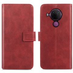 iMoshion Luxuriöse Buchtyp-Hülle Nokia 5.4 - Rot