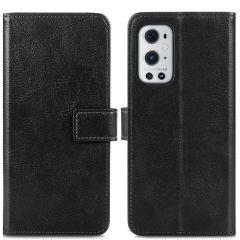 iMoshion Luxuriöse Buchtyp-Hülle OnePlus 9 Pro - Schwarz