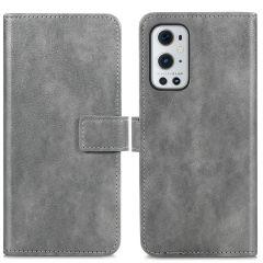 iMoshion Luxuriöse Buchtyp-Hülle OnePlus 9 Pro - Grau