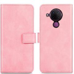 iMoshion Luxuriöse Buchtyp-Hülle Nokia 5.4 - Rosa