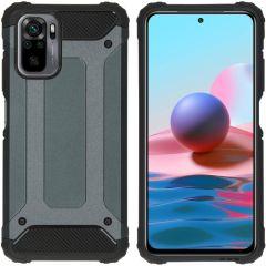 iMoshion Rugged Xtreme Case Xiaomi Redmi Note 10 (4G) - Dunkelblau