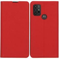 iMoshion Slim Folio Booklet Motorola Moto G30 / G20 / G10 (Power) - Rot