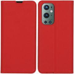 iMoshion Slim Folio Booklet OnePlus 9 Pro - Rot
