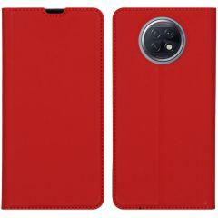 iMoshion Slim Folio Booklet Xiaomi Redmi Note 9T (5G) - Rot