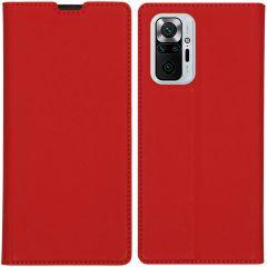 iMoshion Slim Folio Booklet Xiaomi Redmi Note 10 Pro - Rot