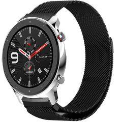 iMoshion Milanese Watch Armband Amazfit GTR - Schwarz