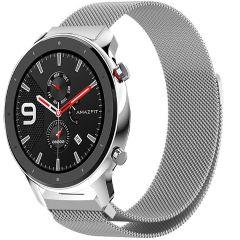 iMoshion Milanese Watch Armband Amazfit GTR - Silber
