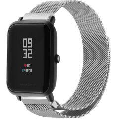 iMoshion Milanese Watch Armband Amazfit GTS / BIP - Silber