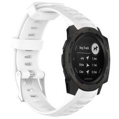 iMoshion Silikonband für die Garmin Instinct - Weiß