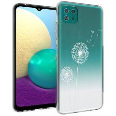 iMoshion Design Hülle Samsung Galaxy A22 (5G) - Pusteblume - Weiß