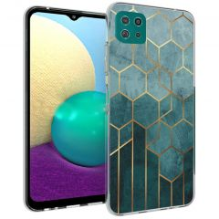 iMoshion Design Hülle Samsung Galaxy A22 (5G) - Muster - Grün
