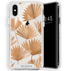 Selencia Fashion-Backcover mit zuverlässigem Schutz iPhone Xs / X