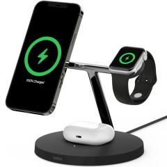Belkin 3-in-1 Wireless Charger MagSafe iPhone + Apple Watch+AirPods