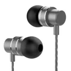 Lenovo HF118 Metal In-Ear Headphones - Schwarz