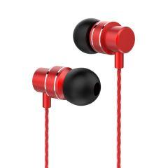 Lenovo HF118 Metal In-Ear Headphones - Rot
