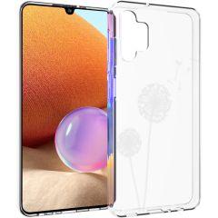iMoshion Design Hülle Samsung Galaxy A32 (4G) - Pusteblume - Weiß