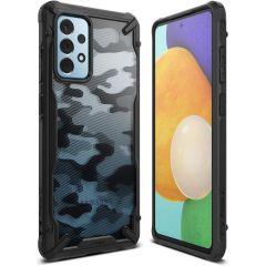 Ringke Fusion X Case Galaxy A52(s) (5G/4G) - Camo Schwarz