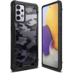 Ringke Fusion X Case für das Samsung Galaxy A72 - Camo Schwarz