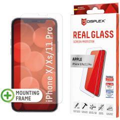 Displex Bildschirmschutzfolie Real Glass für das iPhone 11 Pro / Xs / X