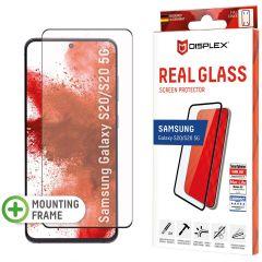 Displex Bildschirmschutzfolie Real Glass Fingerprint Sensor Samsung Galaxy S20