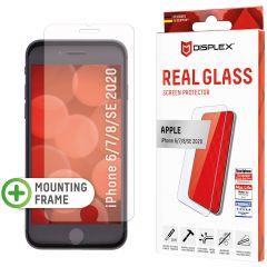 Displex Bildschirmschutzfolie Real Glass für das iPhone SE (2020) / 8 / 7 / 6(s)