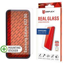 Displex Bildschirmschutzfolie Real Glass für das Samsung Galaxy A22 (5G)