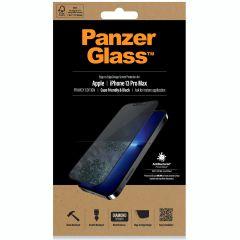 PanzerGlass Privacy Case Friendly Anti-Bacterial Displayschutzfolie für das iPhone 13 Pro Max - Schwarz