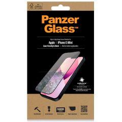 PanzerGlass Case Friendly Antibakterieller Screen Protector für das iPhone 13 Mini - Schwarz