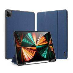 Dux Ducis Domo Book Case für das iPad Pro 12.9 (2021) - Dunkelblau