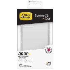 OtterBox Symmetry Backcover + Alpha Glass Screenprotector für das iPhone 13 Pro Max - Transparent