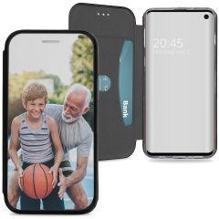 Samsung Galaxy S10 Gel Bookstyle gestalten (einseitig)