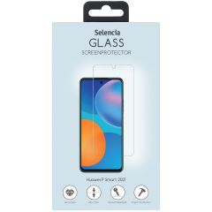Selencia Displayschutz aus gehärtetem Glas Huawei P Smart (2021)