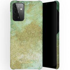 Selencia Maya Fashion Backcover Samsung Galaxy A72 - Green Nature