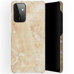Selencia Maya Fashion Backcover Samsung Galaxy A72 - Marble Sand
