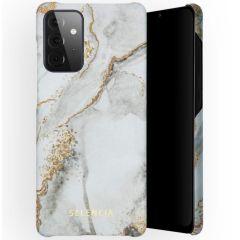 Selencia Maya Fashion Backcover Samsung Galaxy A72 - Marble Stone