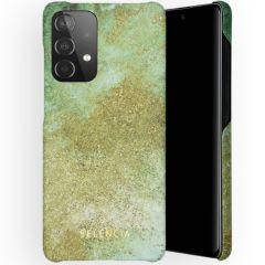 Selencia Maya Fashion Backcover Galaxy A52(s) (5G/4G) - Green Nature