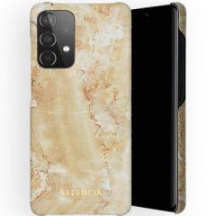 Selencia Maya Fashion Backcover Galaxy A52(s) (5G/4G) - Marble Sand