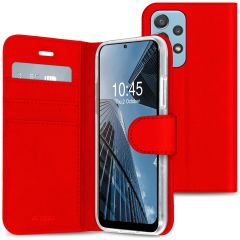 Accezz Wallet TPU Booklet Samsung Galaxy A52(s) (5G/4G) - Rot