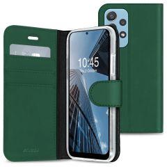 Accezz Wallet TPU Booklet für das Samsung Galaxy A72 - Grün