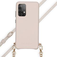 Selencia Hülle aus Schlangenleder mit Band Galaxy A52(s) (5G/4G)