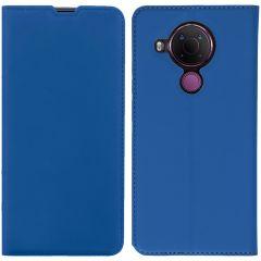 iMoshion Slim Folio Booklet Nokia 5.4 - Dunkelblau